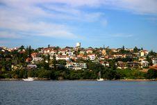 Sydney Seaside Residential Stock Image