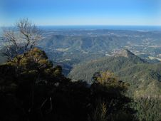 Free View From Mount Warning Stock Photography - 2842002