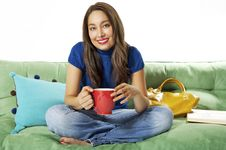 Free Relaxing On The Weekend Royalty Free Stock Photos - 2842048