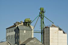 Free Closeup View Of Grain Elevator Royalty Free Stock Image - 2842076