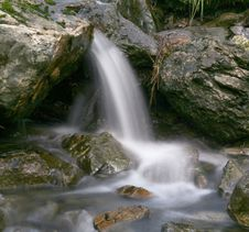 Waterfall 1 Royalty Free Stock Photography