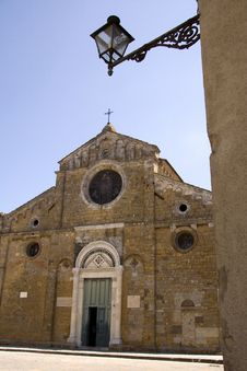 Free Church In Volterra Royalty Free Stock Images - 2842359