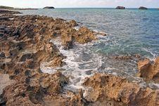 Free Volcanic Rock Coast Stock Photos - 2842753