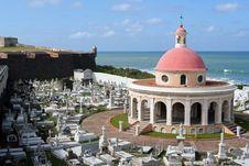 Free San Juan Cemetery Chapel Royalty Free Stock Photo - 2842775