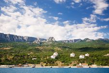 Free Crimea,cottages Stock Photos - 2843573