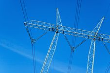Free Power Lines Stock Image - 2843801