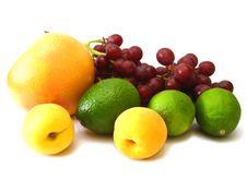 Free Many Fruits On White Stock Photo - 2844370