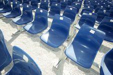 Free Blue Seats Stock Photo - 2844450