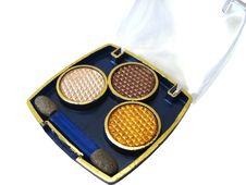 Free Golden Eyeshadows Stock Image - 2844571