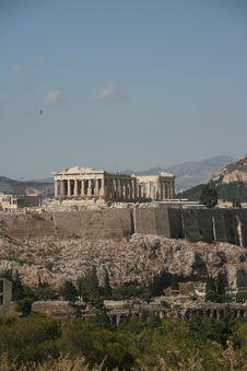 Free View Of  Parthenon Royalty Free Stock Image - 2844826