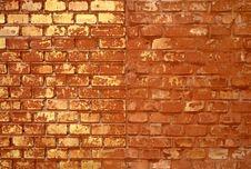 Free Red Brick Wall Stock Image - 2845651