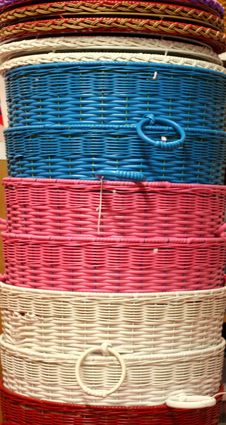 Free Colored Baskets Stock Images - 2845834