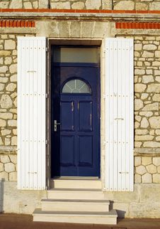 Free Blue Door Royalty Free Stock Image - 2846426