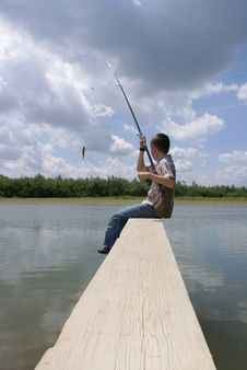 Free Successful Fishing Stock Photos - 2846483