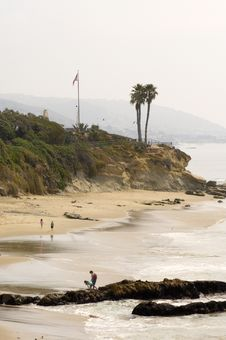 Picnic Beach Royalty Free Stock Photography