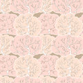 Free Vector Seamless Pattern With Winter Forest Stock Photos - 28400813