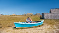 Free Lovers In A Boat Royalty Free Stock Photos - 28405588