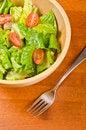 Free Romaine And Grape Tomato Salad 1 Royalty Free Stock Image - 28406466