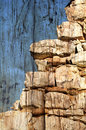 Free Textured Stone Wall Stock Image - 28407631