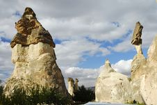 Free The Speciel Stone Formation Of Cappadocia Stock Images - 28403174