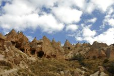 Free The Speciel Stone Formation Of Cappadocia Royalty Free Stock Photography - 28403187