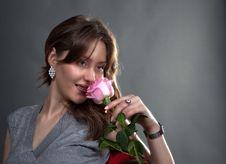 Free Portrait Of Lovely Girl Stock Images - 28404184