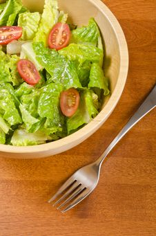 Free Romaine And Grape Tomato Salad 1 Royalty Free Stock Image - 28406466