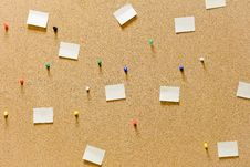 Free Cork Board Stock Image - 28408351
