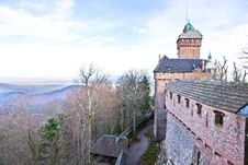 Free Haut-Koenigsbourg Castle Royalty Free Stock Photography - 28408617