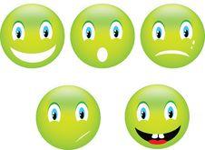 Free Smile Emoticon Stock Image - 28409551
