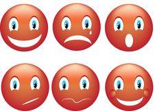 Free Smile Emoticon Stock Photo - 28409570