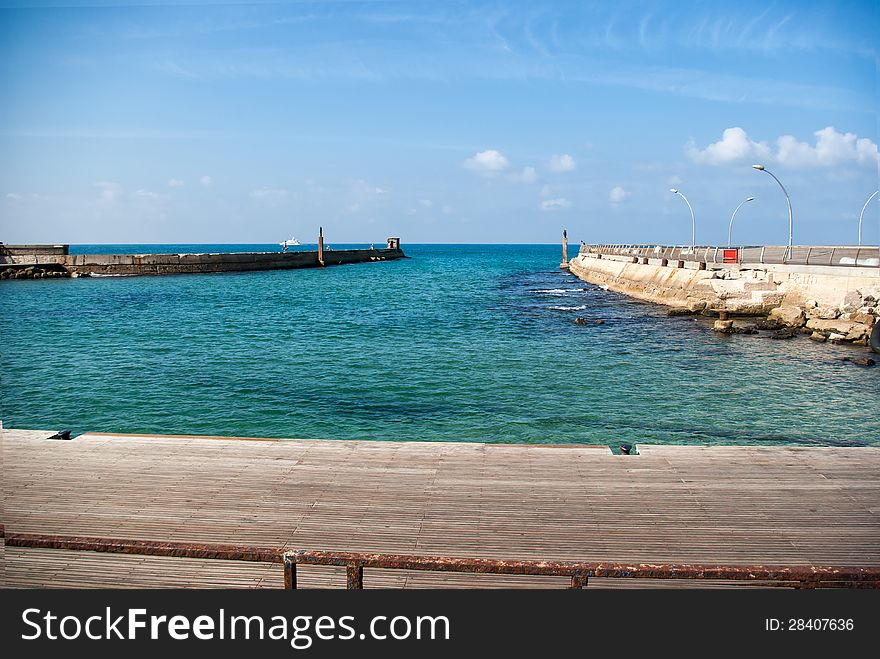 Tel-Aviv Israel - The Old Port