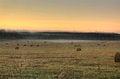 Free Slanted Field. Hay Piles. Royalty Free Stock Image - 28412036