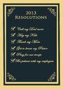 Free 2013 Resolutions Stock Images - 28413404