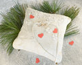 Free Wedding Pillow Royalty Free Stock Images - 28416219