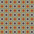 Free Seamless Pattern In Retro Colors Royalty Free Stock Photos - 28417628
