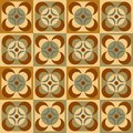 Free Seamless Pattern In Retro Colors Royalty Free Stock Photos - 28418918