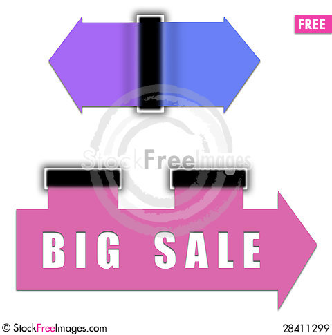 Free Colored Arrows For Web Royalty Free Stock Images - 28411299