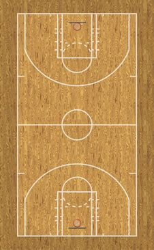 Free Basketball Court Stock Photos - 28414323