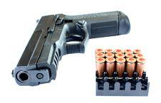 Free Pistol Stock Image - 28414491