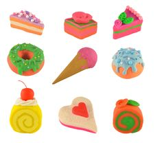 Free Sweet Things Set Royalty Free Stock Photo - 28416185
