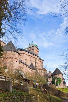 Free Haut-Koenigsbourg Castle Stock Images - 28417844