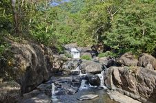Free Nangrong Waterfal, Nakhon Nayok, Thailand Royalty Free Stock Photos - 28418808