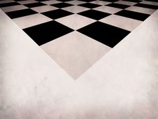 Free Grunge Checkered Background Stock Image - 28419521