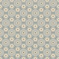 Free Seamless Pattern With Hexagons, In Retro Colors Stock Photo - 28421240
