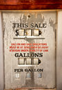 Free Gasoline Priceless. Royalty Free Stock Images - 28426809