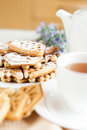 Free With A Cup Of Tea And Homemade Pastries Stock Image - 28428461