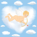 Free Cupid Flying Stock Photo - 28428810