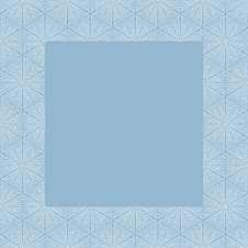 Free Greeting Card With Frosty Frame Stock Photo - 28420730