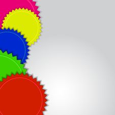 Free Colorful Labels Background Stock Photo - 28423040